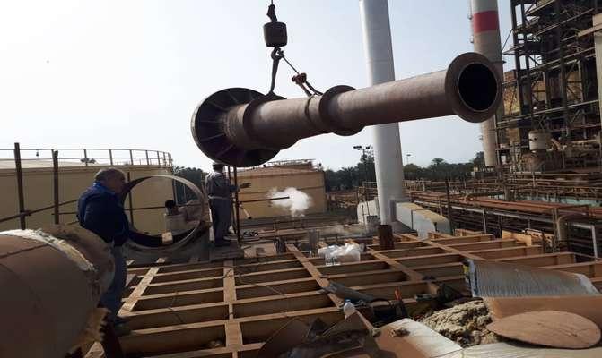 پایان عملیات تعویض ترمو کمپرسور آب شیرین کن شماره ۳ نیروگاه بندرعباس