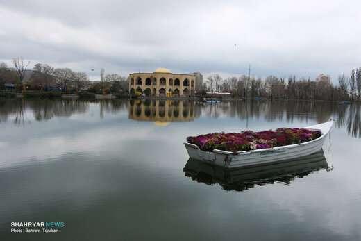 طبیعت بهاری پارک ائل گولی در روزهای پیشگیری از کرونا