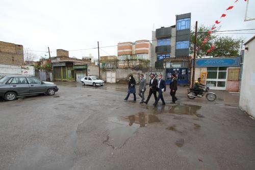آغاز عملیات احداث دو پاتوق محله و یک معبر در بافت محله آبکوه