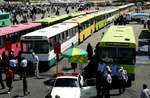 جزئیات ورود اتوبوسهای بین شهری به سفرهای درون شهری/ نرخ کرایه هنوز مشخص نیست