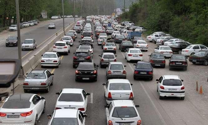 تردد در جادههای کشور ۸.۵ درصد افزایش یافت