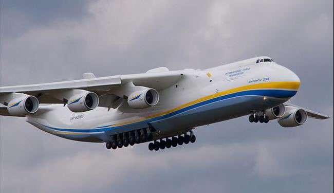 بزرگترین هواپیمای باری جهان به چین رفت + فیلم