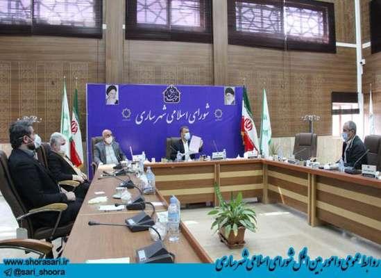 کمیسیون برنامه،بودجه و حقوقی شورای اسلامی شهر ساری مورخ 26 فروردین ماه