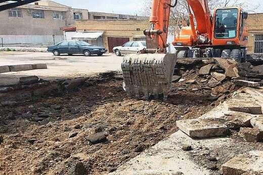 سکوهای سبزه میدان تبریز بازسازی و بهسازی می شود