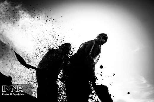 تدفین فوتی های کرونا در آرامستان وادی رحمت تبریز