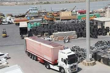 افزایش ۱۸ درصدی صادرات کالا از بنادر آبادان در سال ۹۸