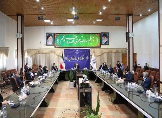 جلسه تبیین لزوم سرمایه گذاری برای اجرای فاز ۲ بوستان ملل ساری
