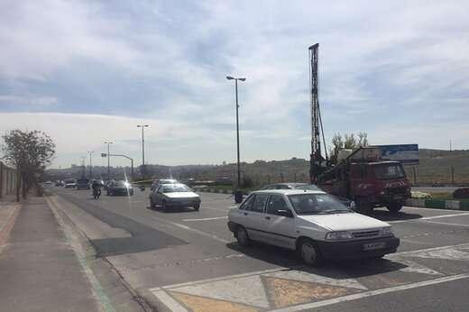 بررسی اجرای تقاطع غیرهمسطح شهید ناصری مقدم در مسیر بلوار سپهبد شهید سلیمانی