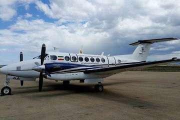 کالیبراسیون سامانه مانیتورینگ FIS هواپیمای فلایت چک انجام شد/ انجام ۴۵۰ سورتی پرواز وارسی در سال گذشته