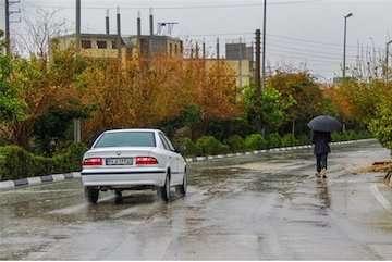 بارش باران در دامنه های البرز و زاگرس/ ادامه بارشها تا اواخر هفته آینده/احتمال بارش تگرگ در مناطق جنوبی کشور