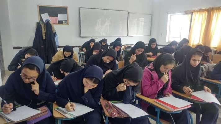 برگزاری پیش آزمون طرح ملی داناب در مدارس شهرستانهای...