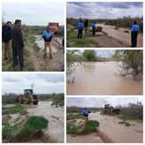 نجات ۲ روستا از طغیان رودخانه کشفرود در خراسان رضوی