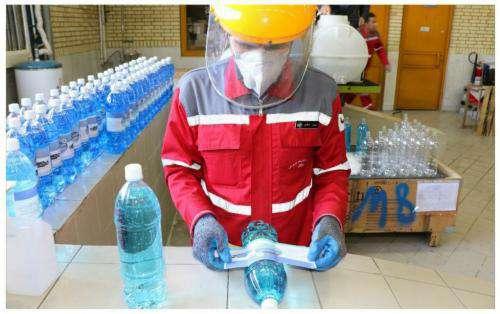 راه اندازی کارگاه تولید مواد ضدعفونی سطوح و اجسام در شرکت بهره برداری  ...