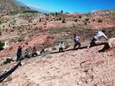 ترمیم خط انتقال آب آشامیدنی یک مجتمع روستایی در چهارمحال و بختیاری