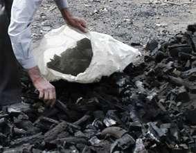 کوره های سنتی تولید ذغال عامل نابودی خاک