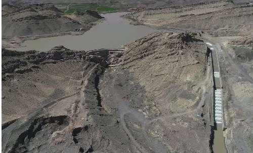  حجم آب ذخیره سد ۱۵ خرداد بیش از 102 میلیون مترمکعب است