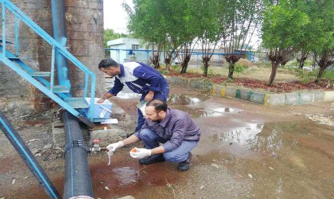 سنجش و اندازه گیری آلاینده های زیست محیطی  نیروگاه بندرعباس