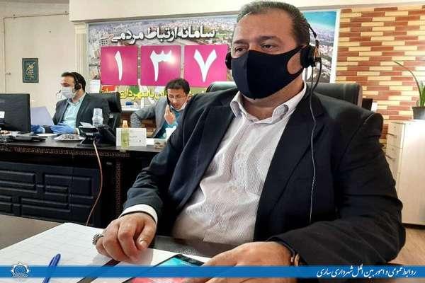 مدیران شهرداری ساری پاسخگوی مطالبات شهروندان در حوزه مدیریت شهری