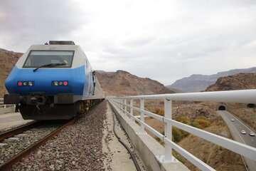 قطار محلی مازندران فعالیتش را از سر گرفت