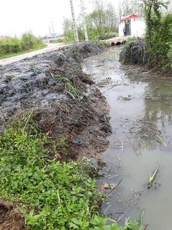 34 کیلومتر از انهار شهرستان فومن لایروبی شد