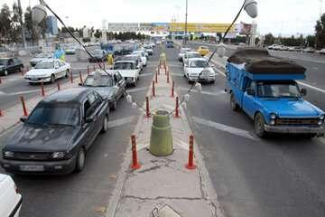 ترافیک سنگین در دو محور شهریار و کرج به سمت تهران