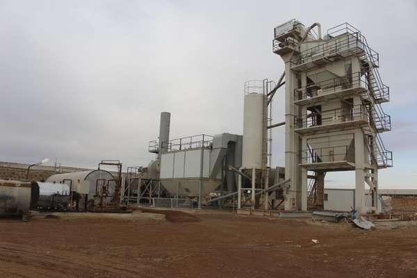 تولید در کارخانه آسفالت شهرداری قزوین از دوم فروردین ماه سال جاری آغاز شد