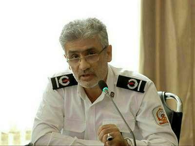 رعایت موارد بهداشتی در سازمان آتش نشانی قزوین