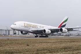 ازسرگیری پروازهای هواپیمایی امارات چندماه عقب افتاد