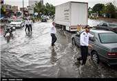 هواشناسی ایران ۹۹/۲/۴| پیش بینی طغیان رودخانهها و آبگرفتگی معابر