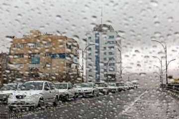 بارش باران از امروز در بیشتر مناطق کشور رخ میدهد