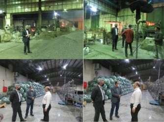 پایش شبانه واحدهای صنعتی و تولیدی شهرستان اردبیل