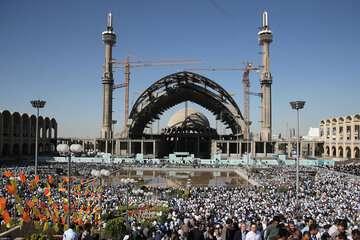 پیشرفت پروژه مصلی تهران ۸۰ درصد است