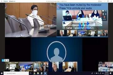 برگزاری نشست گروه مدیریتی منطقه ۲ آسیا از طریق ویدئو کنفرانس