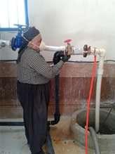 فشار آب شرب 6 روستای بخش مرکزی شهرستان سقز تقویت شد