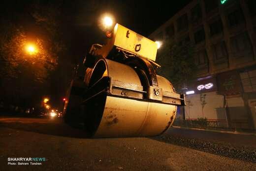 خیابان  ۳۰ هزار مترمربعی توحید آسفالتریزی میشود