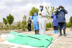 اصول بهداشتی و شرعی در دفن اموات کرونایی رعایت میشود