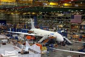 کاهش ۵۰ درصدی تولید هواپیماهای بوئینگ
