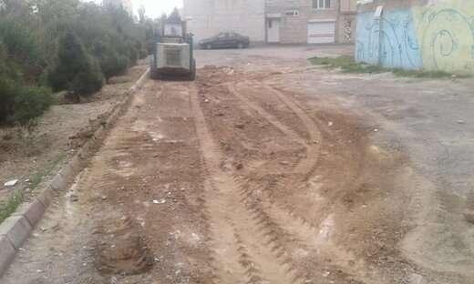 پاکسازی زمین های بایر به مساحت ۳۰۰ هزار مترمربع در شهرداری منطقه ۶ تبریز