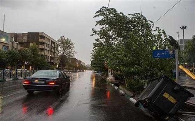 وزش باد شدید در کشور؛ از تردد غیرضروری در جادهها خودداری کنید!