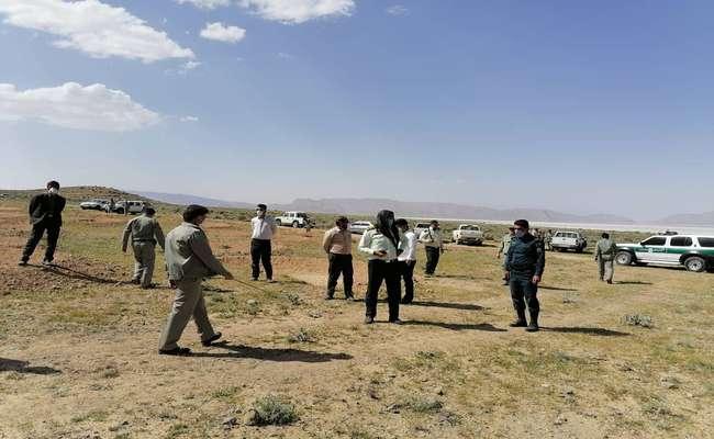 ۲۰۰ هکتار از اراضی ملی پناهگاه حیات وحش بختگان در یک روز رفع تصرف شد