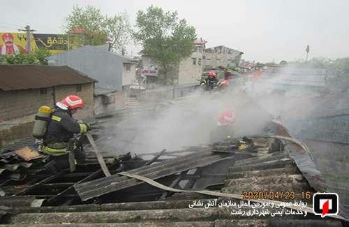 عملکرد یک ماهه آتش نشانان شهر باران در فروردین99/ آتش نشانی رشت