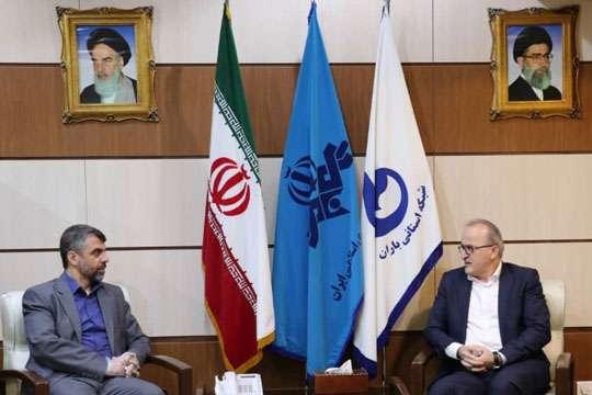 دیدار مدیرعامل شرکت آب و فاضلاب استان گیلان با مدیرکل صدا و سیمای مرکز گیلان