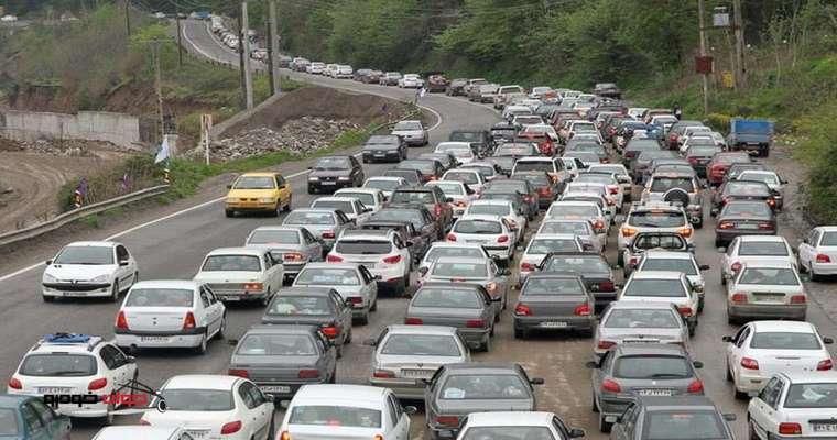 تردد در محورهای برون شهری، ۶.۲ درصد کاهش یافت