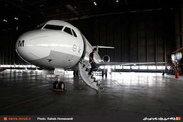 انجام اصلاحیه تقویت درب کابین خلبان هواپیمای فوکر F-۱۰۰