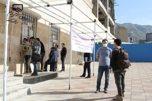 گزارش تصویری اقدامات سازمان برای ارایه خدمات در ایام شیوع کرونا همزمان با توسعه خدمات غیر حضوری