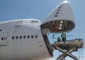 اولین پرواز باری صادراتی فرودگاه بینالمللی شهید بهشتی اصفهان انجام شد