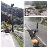 شبکه برق آسیبدیده ناشی از وقوع سیل در غرب مازندران ترمیم شد
