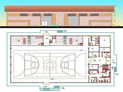 طراحی سوله ورزشی شرق بلوار شهید باهنر به پایان رسید