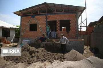 کرونا تکمیل خانههای سیلزدگان مازندرانی را به تاخیر انداخت