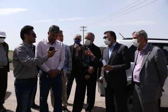 خنده بر لبان تشنه اهالی روستای مهدی آباد مشهد نقش بست